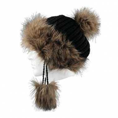 Wintermuts sherpa in het zwart