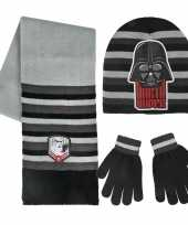 Star wars wintermuts handschoenen en sjaal