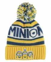 Wintermutsen minions voor kinderen
